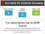 Soo Bahk Do Institute Giveaway Contest