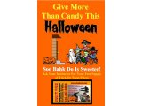 Give More Than Candy This Halloween Poster