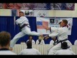 Travis Guinn Jump Back Kick