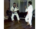 Free Sparring With Student During Demo 1969-70 B'Klyn, NY