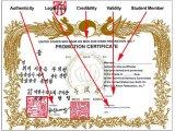 Gup Certificate Legitmacy