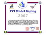 Model Studio Certificate