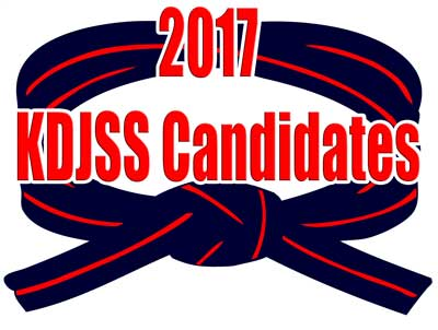 KDJSS Candidates 2017