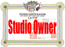 Certified Studio Owners