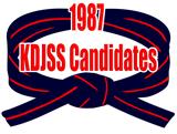KDJSS Candidates 1987