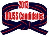 KDJSS Candidates 2013